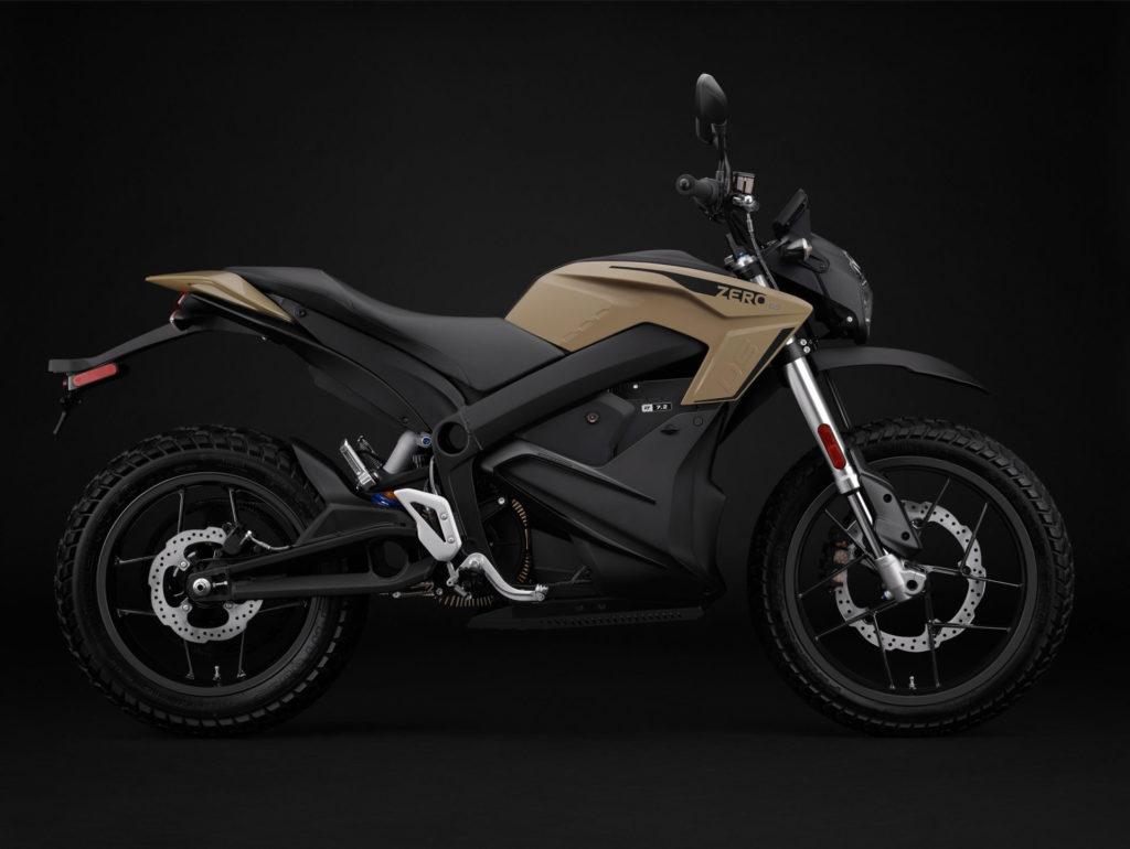 A 2022-model Zero DS electric motorcycle. Photo courtesy Zero Motorcycles.