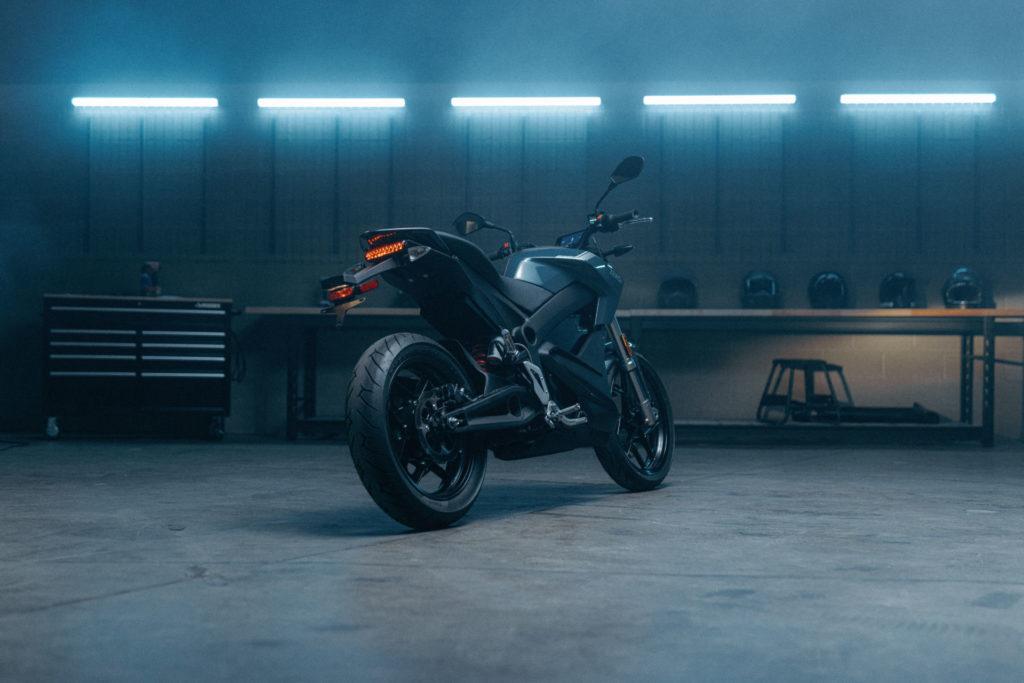A 2022-model Zero S electric motorcycle. Photo courtesy Zero Motorcycles.
