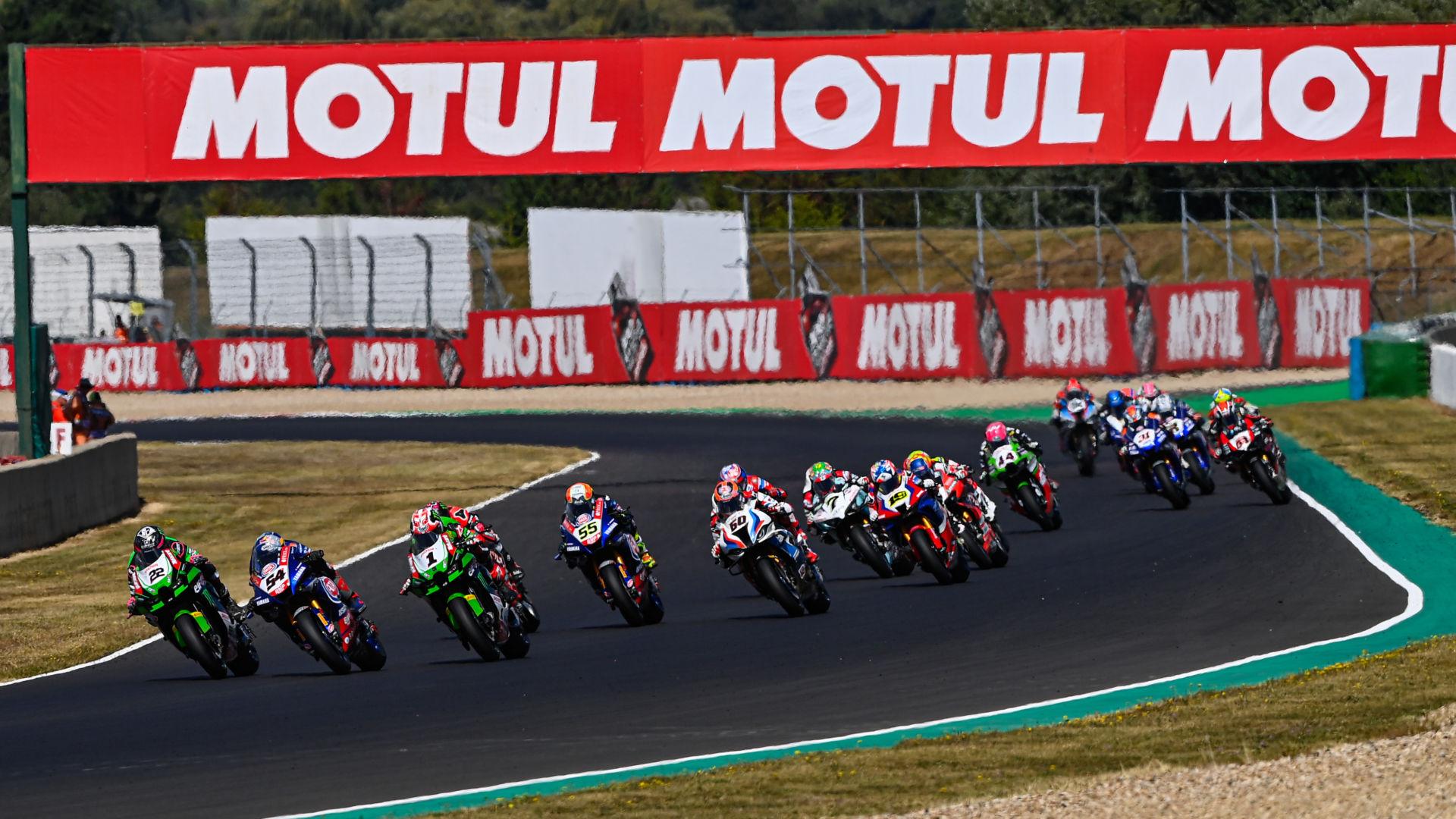 The 2021 FIM Superbike World Championship continues September 17-19 at Catalunya. Photo courtesy Dorna.