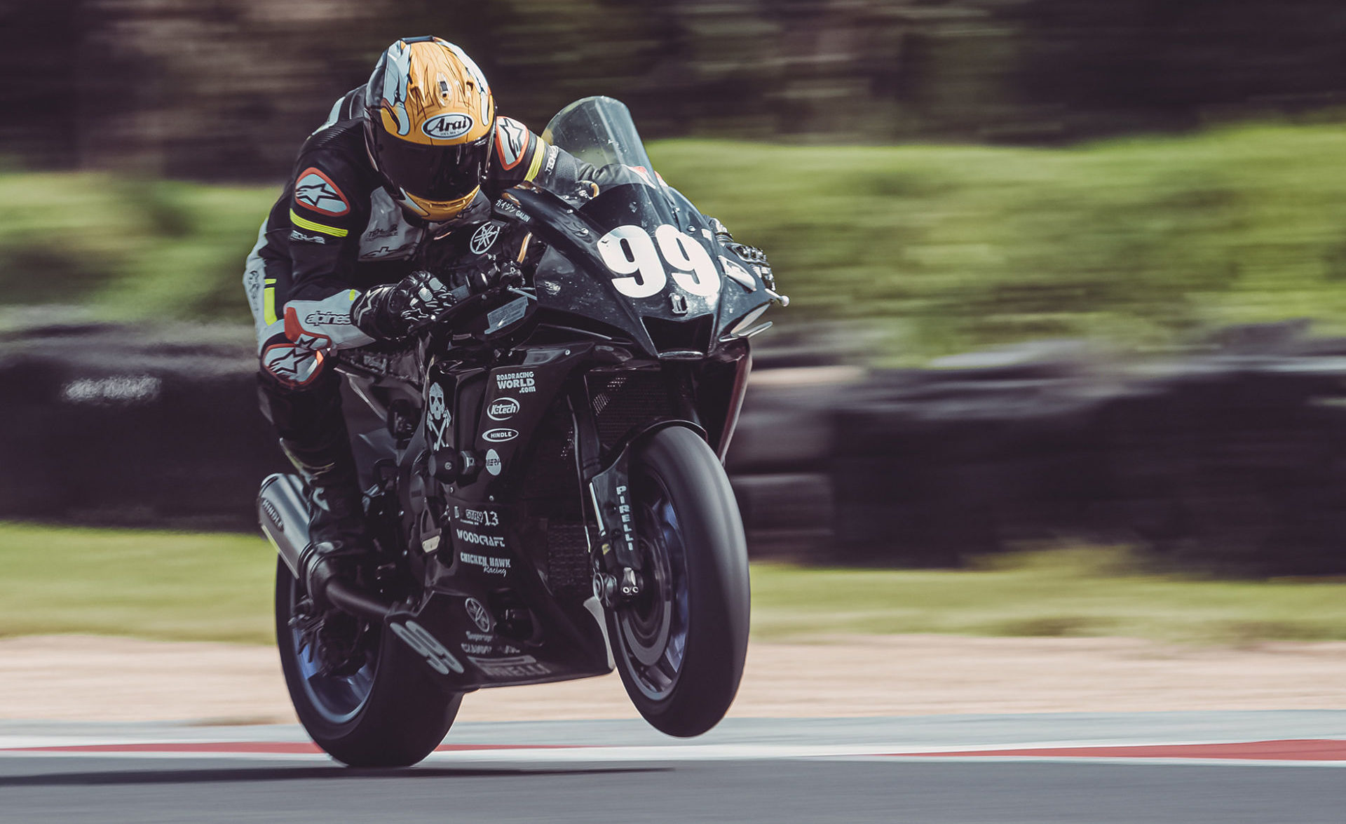 Army of Darkness (99) won the overall 2021 N2/WERA National Endurance Championship. Photo by Vae Veng – Noiseless Productions, courtesy N2 Racing.