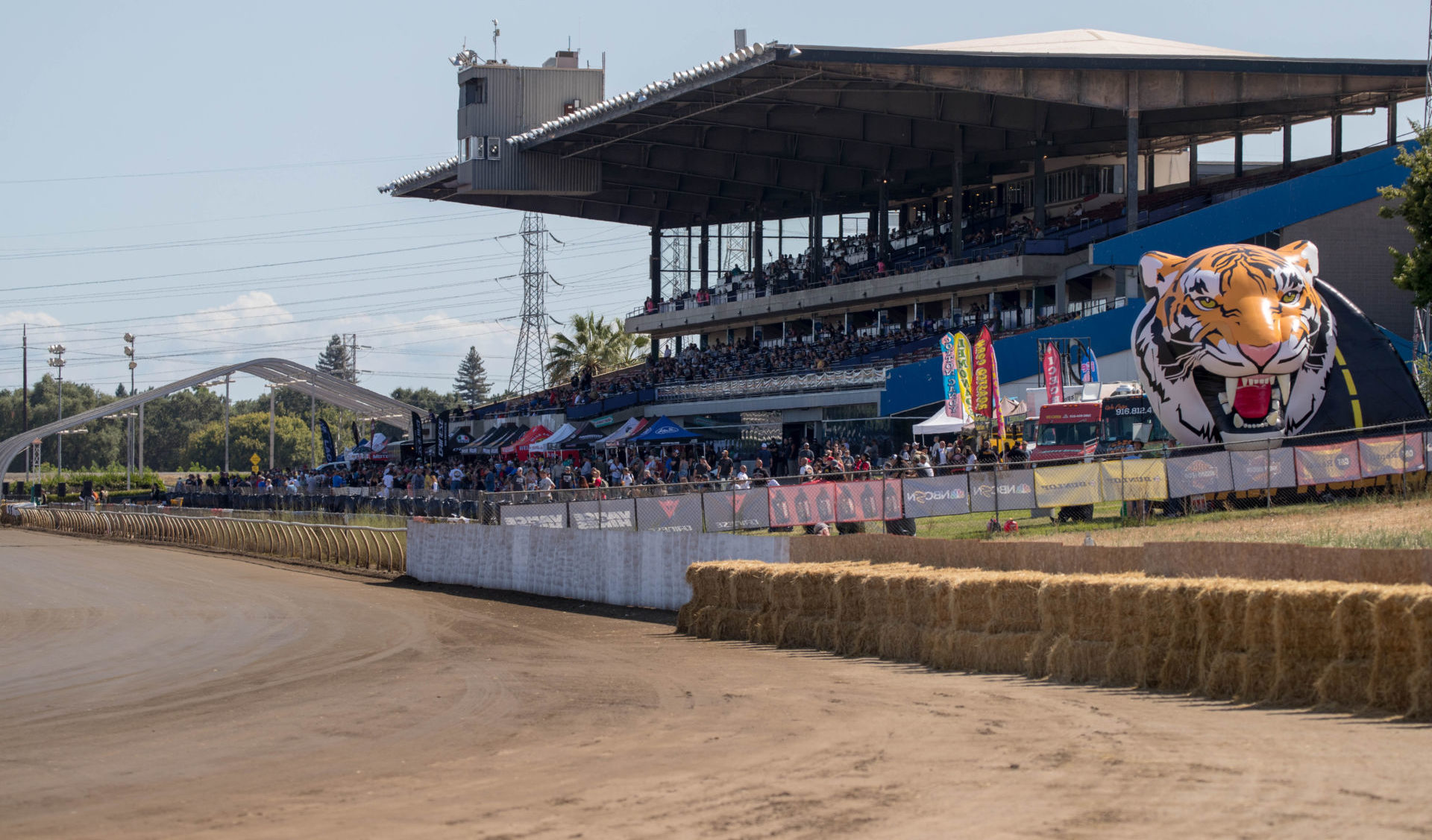 The one-mile dirt track at the Cal Expo in Sacramento, California. Photo by Scott Hunter, courtesy AFT.