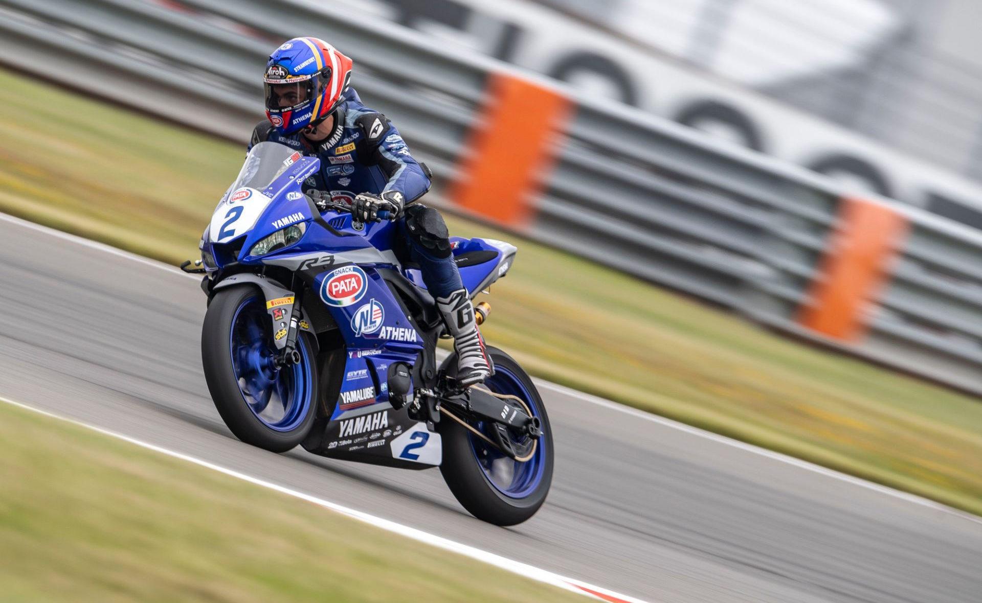Iker Garcia Abella (2). Photo courtesy Yamaha.