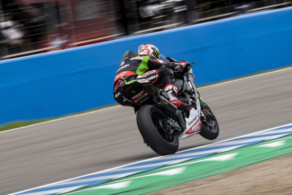 Jonathan Rea (1). Photo courtesy Kawasaki.
