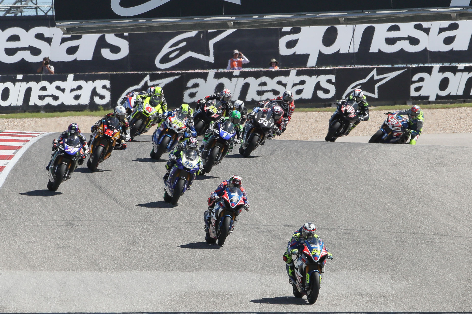 MotoAmerica is slated to start its 2022 schedule at Circuit of The Americas in April. Photo by Brian J. Nelson.