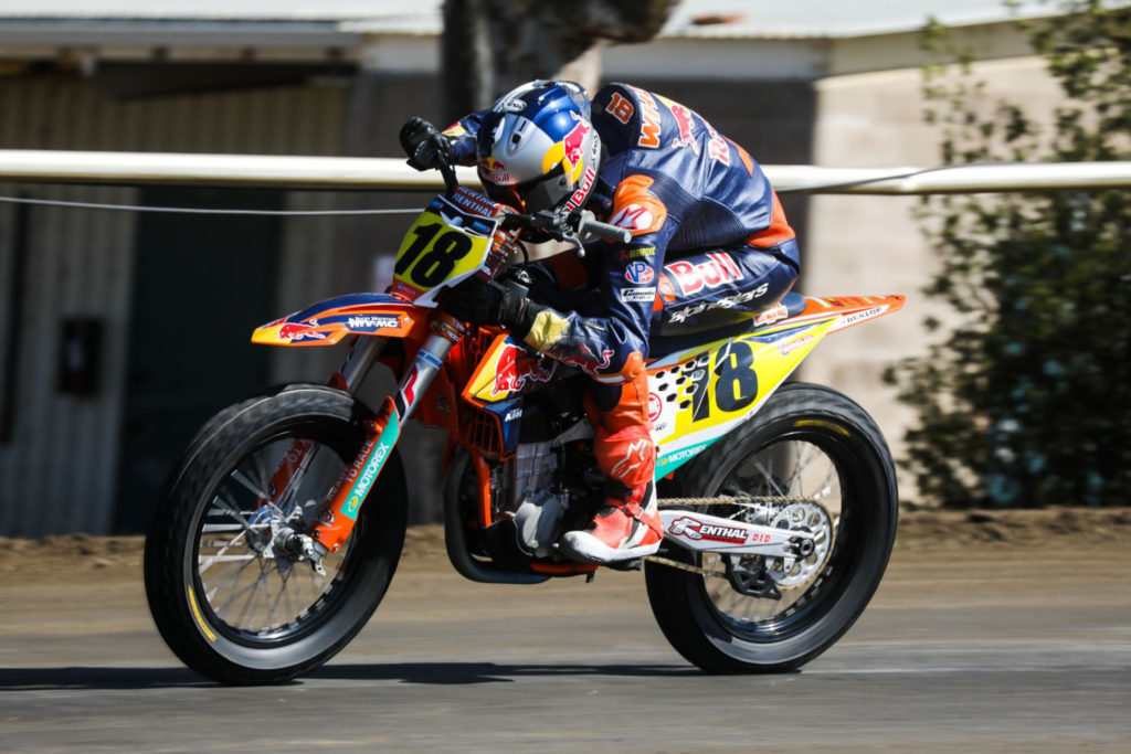 Max Whale (18). Photo courtesy KTM Factory Racing.