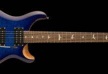 A Paul Reed Smith SE Custom 24 guitar. This photo is used for illustration purposes only and does not indicate that this guitar is part of the package up for auction. Photo courtesy Paul Reed Smith Guitars.