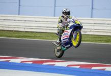 Romano Fenati (55). Photo courtesy Max Racing Team.