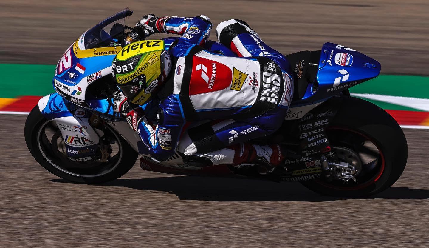 Thomas Luthi (12). Photo courtesy SAG Racing Team.