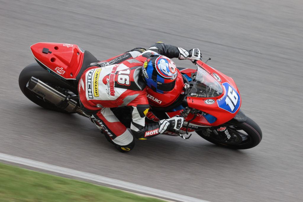 Trevor Standish (16). Photo by Brian J. Nelson, courtesy Pure Attitude Racing.