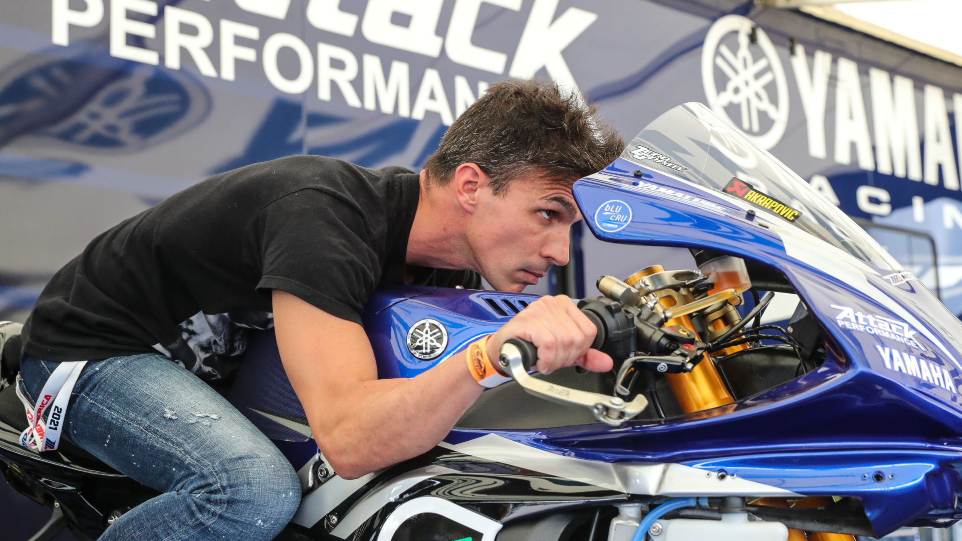 Toni Elias will be back on a Fresh N' Lean Attack Performance Yamaha during the MotoAmerica event at New Jersey Motorsports Park. Photo courtesy Yamaha.