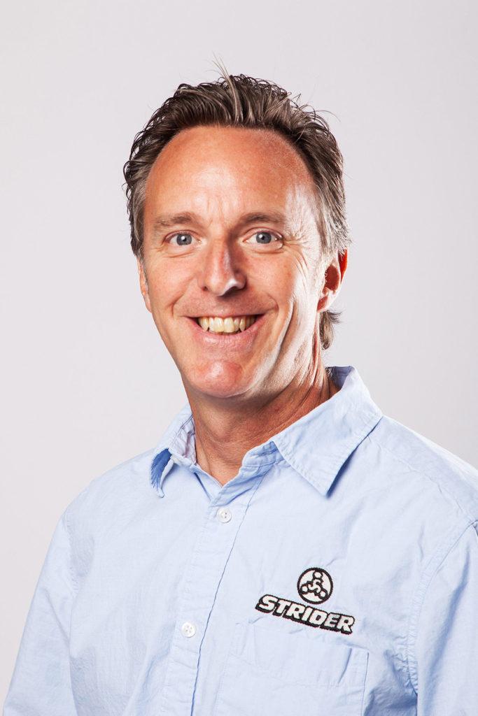 Strider CEO Ryan McFarland. Photo courtesy Strider.
