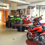 The road racing section of the AMA Motorcycle Hall of Fame Museum features winning machines including Miguel Duhamel's #1 2004-2005 AMA Pro Formula Xtreme Championship-winning Honda CBR600R; Nicky Hayden's #1 1999 AMA Supersport Championship-winning Honda CBR600F4; Wayne Rainey's 1983 AMA Superbike Championship-winning Kawasaki GPz750; and Don Emde's #25 1972 Daytona 200-winning Yamaha TR3 350cc air-cooled twin-cylinder two-stroke. Photo by David Swarts.