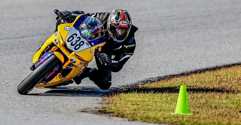 Adam Klepadlo (638) won the Supersport 1000 Expert race and both MG40 Expert races. Photo by Joshua Barnett/Apex Pro Photo, courtesy Motogladiator.