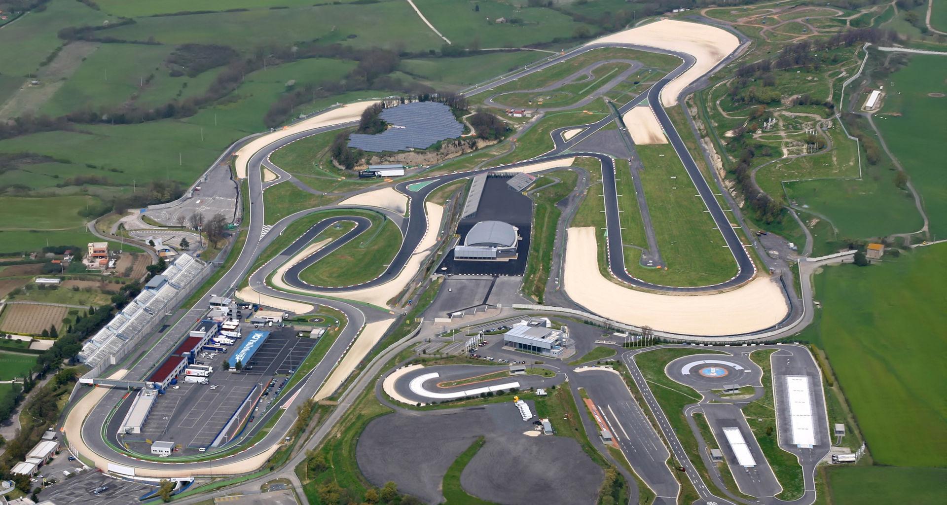 The Vallelunga Circuit, near Rome, Italy. Photo courtesy Dorna.