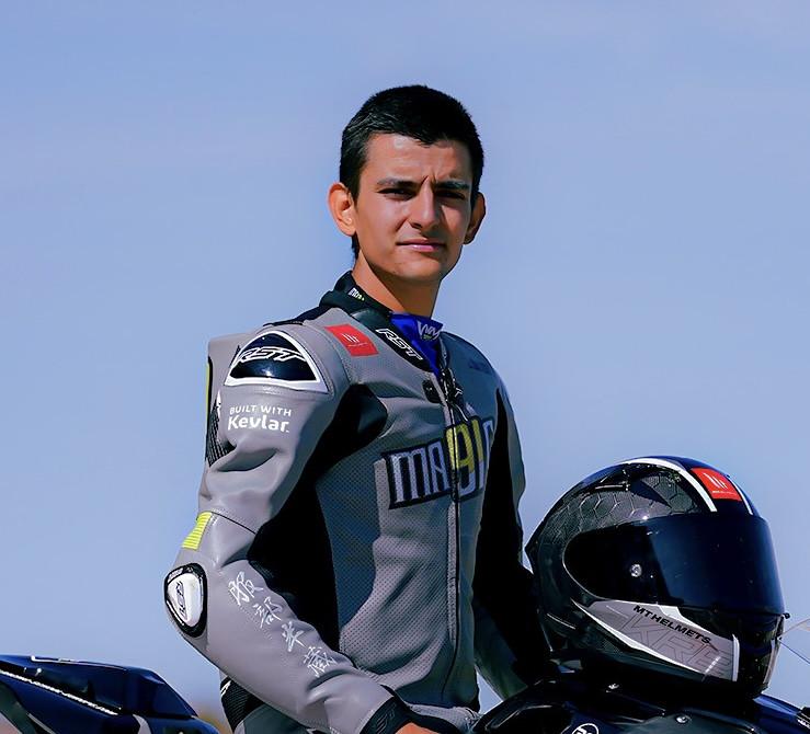 Mihail Florov. Photo courtesy Innovative Race Team.