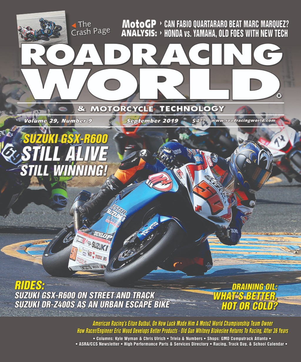 September 2019 Roadracingworld Com Roadracing World