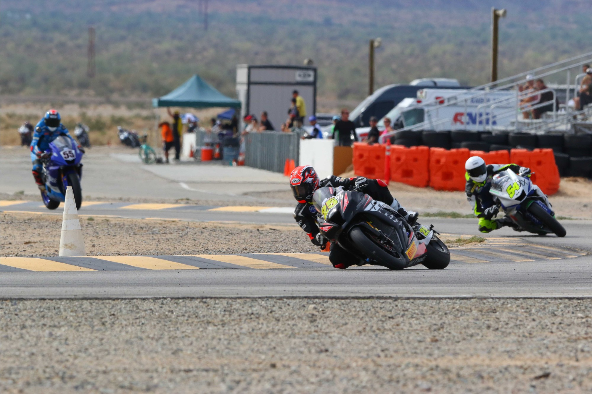 CVMA: Records Broken During Round Two Of Winter Series At Chuckwalla Valley Raceway; ROCCO LANDERS SCORES 6 WINS AT CVMA AND SETS TWO NEW TRACK RECORDS ABOARD JEREMY TOYE'S KAWASAKI NINJA 400R AND A HONDA RS125 OVER THE OCTOBER 27-28, 2018 RACE WEEKEND