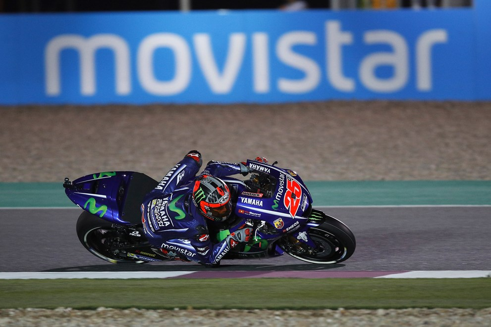 Motogp Qatar Qualifying Cancelled Due To Weather Grid Positions To Be Based Off Combined Free Practice Times Updated Roadracing World Magazine Motorcycle Riding Racing Tech News