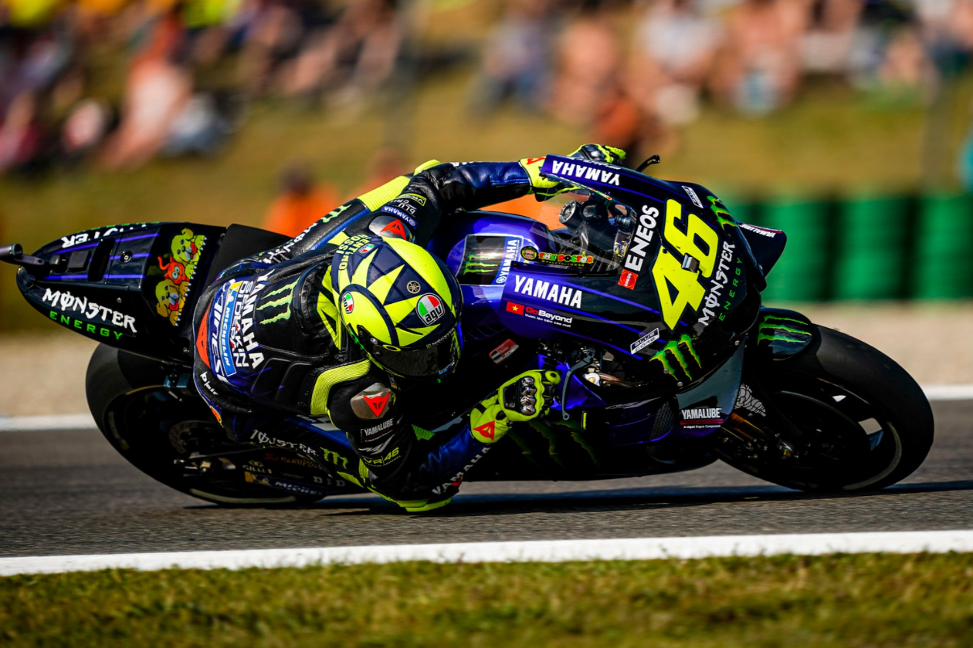 Motogp Valentino Rossi Says This Is Not A Positive Time For Us Roadracing World Magazine Motorcycle Riding Racing Tech News